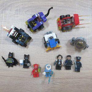 Lego DC Batman Catwoman mini figures Gotham Police
